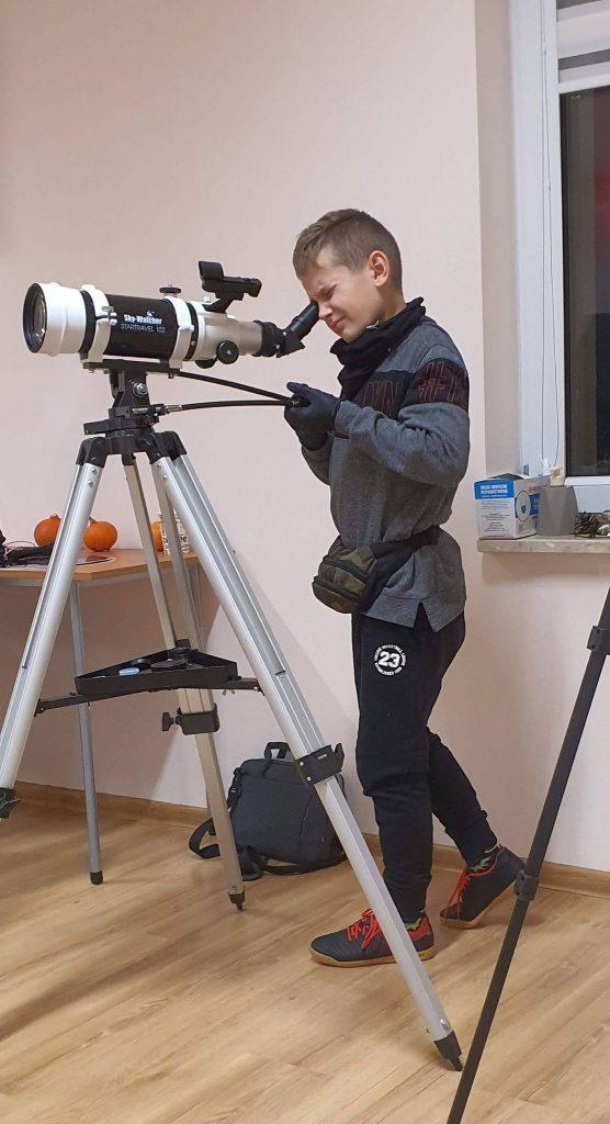 Fot3 – Nauka posługiwania się lunetą